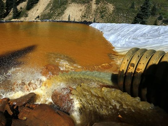 Mine Waste Spill Sperfund