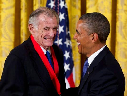 Barack Obama, Frank Deford