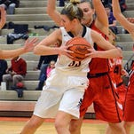 Brighton's Beth Dziekan scored 15 points and had 12 rebounds to lead the Bulldogs in their win over Pinckney on Tuesday.