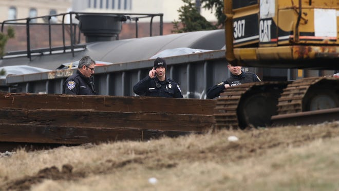 A man was fatally struck by a CSX train just before noon on CSX tracks over Interstate 490 in Rochester.