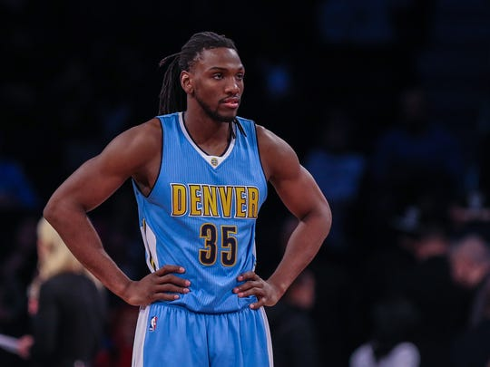 Kenneth Faried's 25.3 minutes per game in 2015-16 were