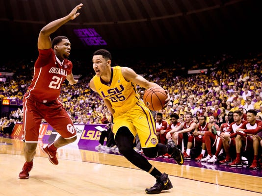 NCAA Basketball: Oklahoma at Louisiana State