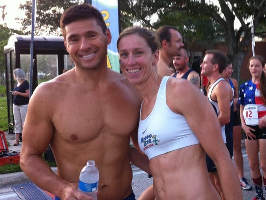 Ed and Kaitlin Donner are two of the top runners in