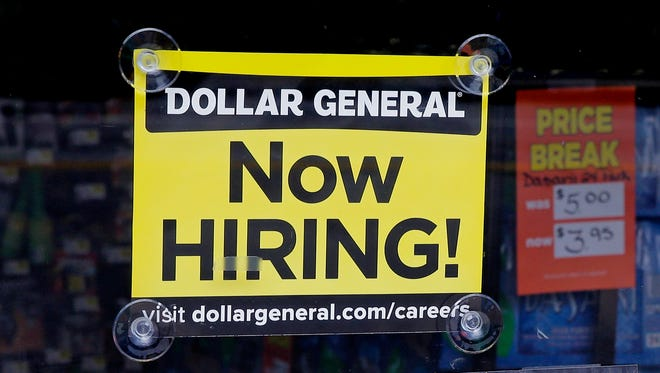 Dollar General will be adding roughly 10,000 new positions this year as it opens new stores and distribution centers.