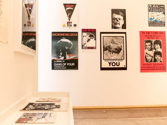 """The exhibit """"Too Fast to Live, Too Young to Die: Punk Graphics, 1976-1986"""" is running at the Cranbrook Art Museum alongside the Shepard Fairey exhibit."""