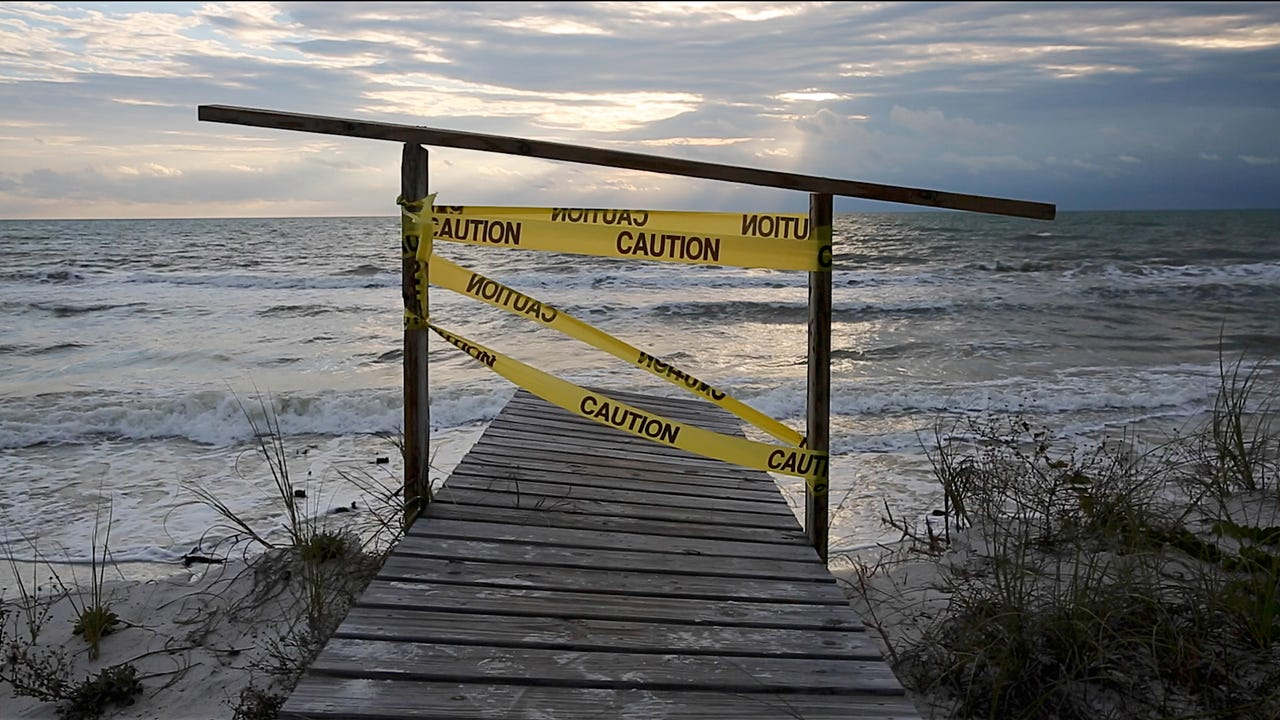 Beach erosion threatens the economy of Cape San Blas