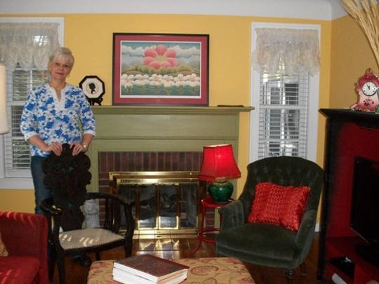 """Barb Tornholm's cheery """"Sunshine House"""" is one of six homes on the Mason Home Tour on Oct. 18. The small cottage-style home is neatly decorated with antiques and furnishings that hint her Swedish heritage."""
