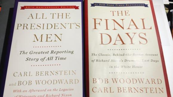Books by Bob Woodward and Carl Bernstein set a new