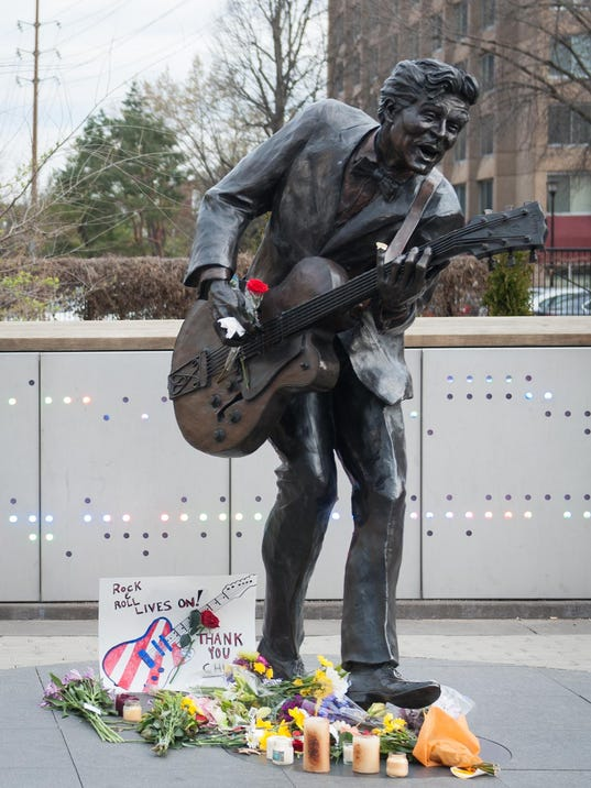 St. Louis Area Mourns Death of Chuck Berry
