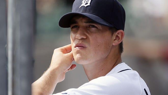 Tigers pitcher Kyle Lobstein