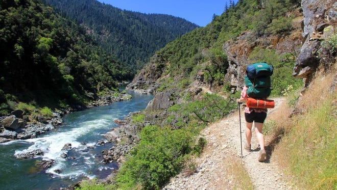 Backpacking the 40-mile Rogue River Trail is one of Oregon's great adventures.