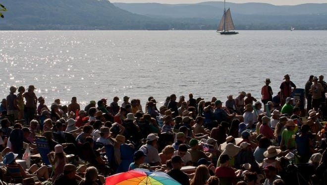 The Clearwater Festival, founded by folk icon Pete Seeger.