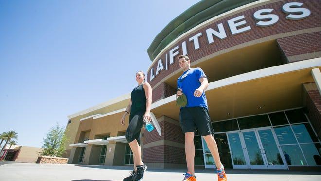 LA Fitness is taking over 11 Arizona 24-Hour Fitness locations.