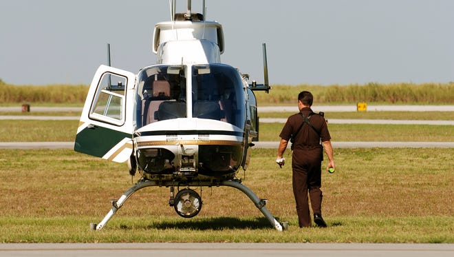 A file photo of a Bell helicopter.