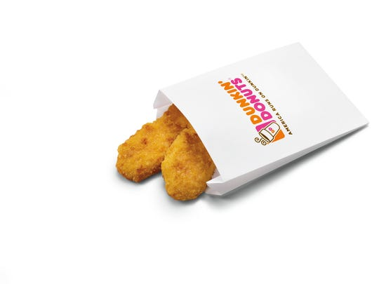 Dunkin' Donuts launches five new snacks for Dunkin'