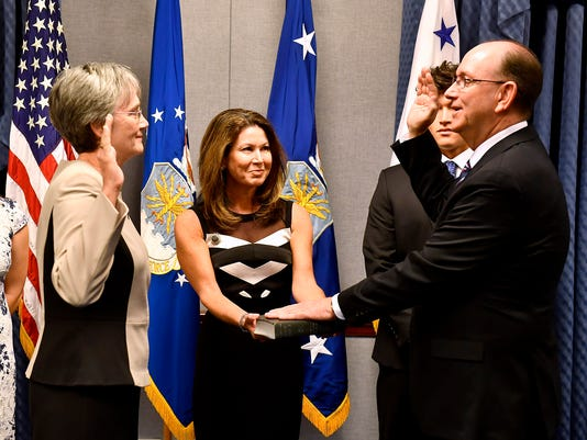 Undersecretary of the Air Force Matthew Donovan Swears In