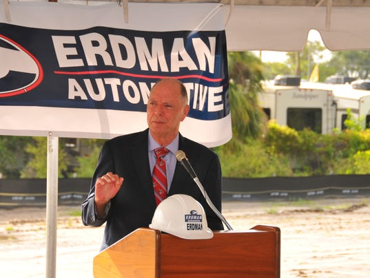 Erdman Auto Group groundbreaking