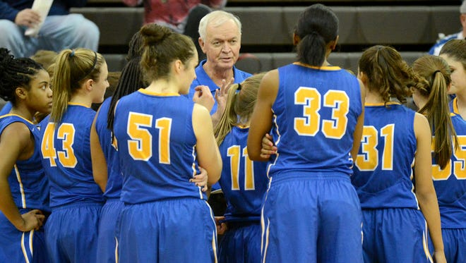 McNairy Central coach Jerry Lott won his 800th game on Tuesday against Fayette-Ware.