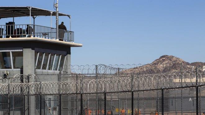 Arizona State Prison Complex-Lewis in Buckeye.