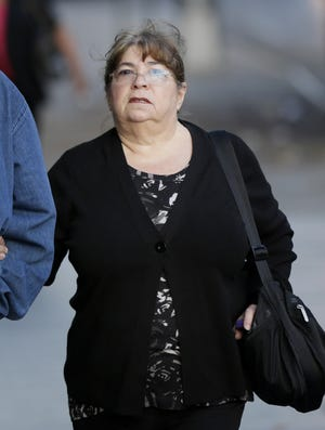 File photo taken in 2013 shows Annette Bongiorno, the longtime assistant to Bernard Madoff, near the start of her Manhattan federal court trial in New York City.