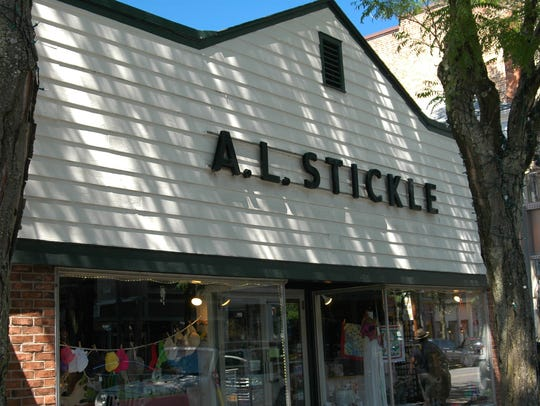 A.L. Stickle Variety Store, on the north side of East