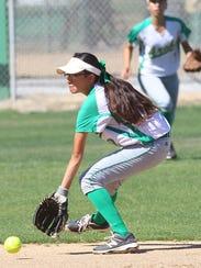 Coachella Valley High School's Tatiana Martinez makes