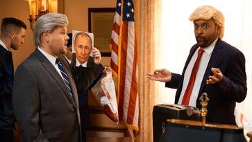 James Corden, Shaggy retool 'It Wasn't Me' to skewer Trump over Russia probe
