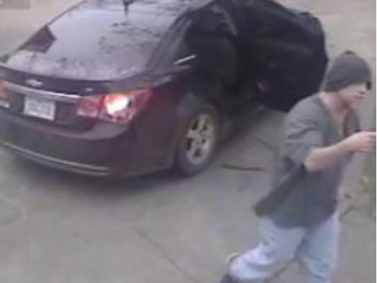 Des Moines Police seek this suspect for a theft Dec. 16.