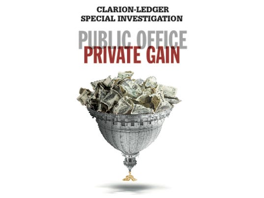 Public Office. Private Gain.