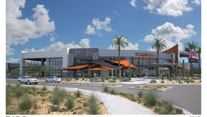 Harley-Davidson of Scottsdale will build a 146,000-square-foot dealership in the Scottsdale Airpark that would be one of the largest for the popular American motorcycle brand.