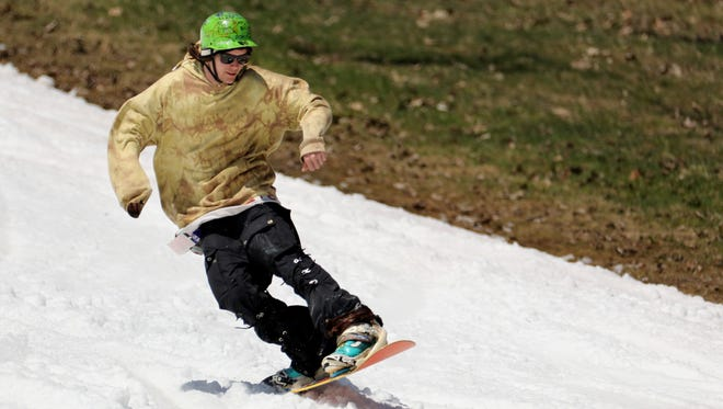 Bristol Mountain opens for a record setting May 1st  of skiing and snowboarding.