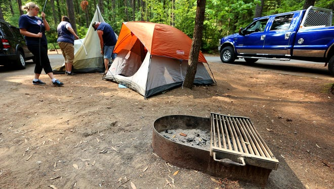 Campfires will be prohibited at sites such as Detroit Lake State Park through the Labor Day weekend.