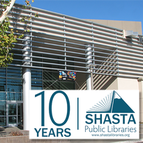 Belated happy anniversary to Redding Library