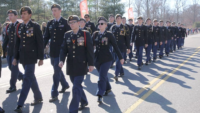 The Fairview High School JROTC battalion has been ranked as Honor Unit with Distinction.