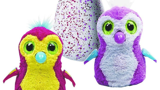 Hatchimals are the hot toy this season.