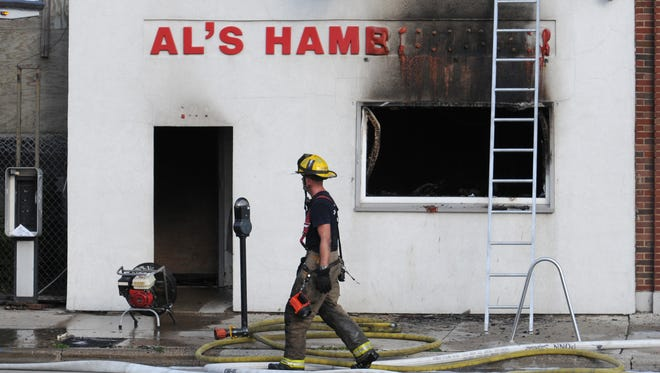 A fire that damaged Al's Hamburger, 131 S. Washington St., Green Bay, in 2011 resulted in a suit between the restaurant owners and one of the contractors.