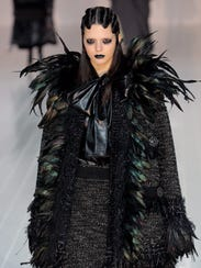 Kendall Jenner walks the runway at the Marc Jacobs