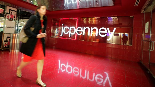 A J.C. Penney store in New York.