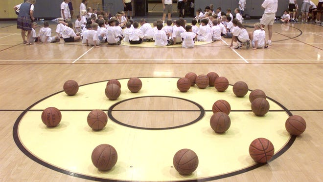 Evaluators at a basketball camp can categorize players by their mechanics and athleticism.