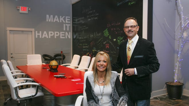 The husband and wife team of Jon and Joni Sztykiel opened Created to C, a new consulting firm and business incubator, in Old Town earlier this year.  John serves as the president and CEO, and Joni as the chief creative officer.