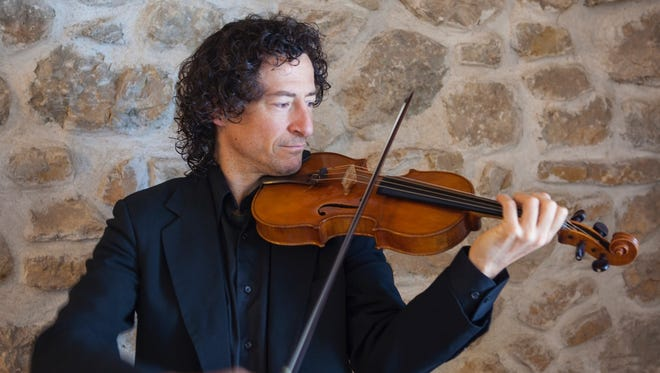 Violinist and former Cascade Quartet member Byron Wallis teams up with pianist Alfredo Oyaguez for a concert Thursday, Sept. 7.