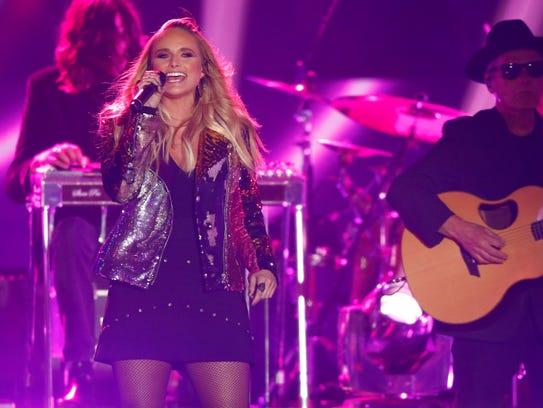 "Miranda Lambert performs ""Pink Sunglasses"" at the CMT"