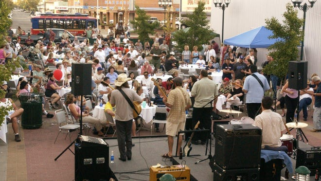 Shari Puorto Band headline Blues, Brews & BBQ at 6 p.m. Friday at The Garden Street Plaza. Admission is free. Food and drink is available for purchase.