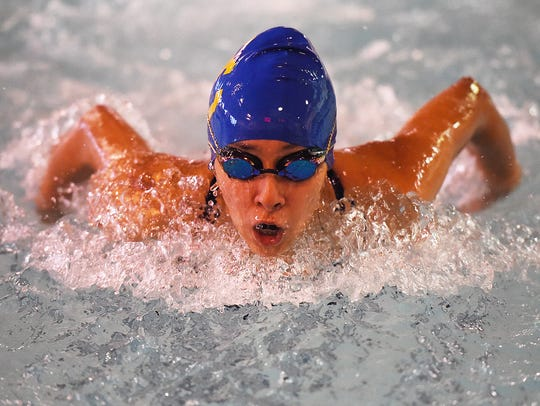 Cape Henlopen HS hosted Sussex Central for a Swim Meet