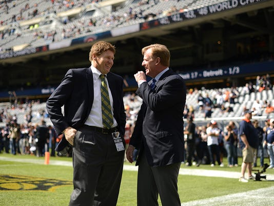 Mark Murphy and Roger Goodell