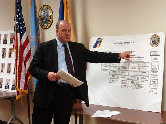 In 2004, then-Bergen County Prosecutor John Molinelli discusses operation Jersey Boyz.