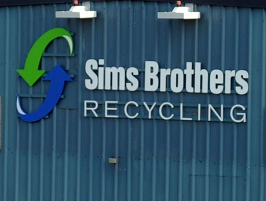MAR Sims Brothers Recycling #stock