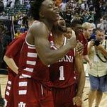 No. 11 Indiana holds off No. 3 Kansas, 103-99