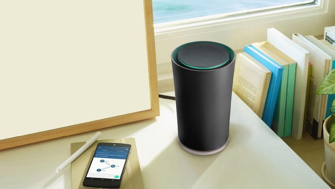 OnHub Wi-Fi router from Google performs regular network checks to evaluate the speed of a connection between devices and the speed delivered by a user's Internet service provider.