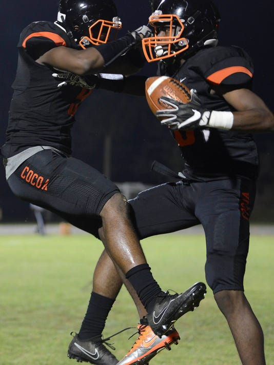 High School Football: Lake Placid at Cocoa